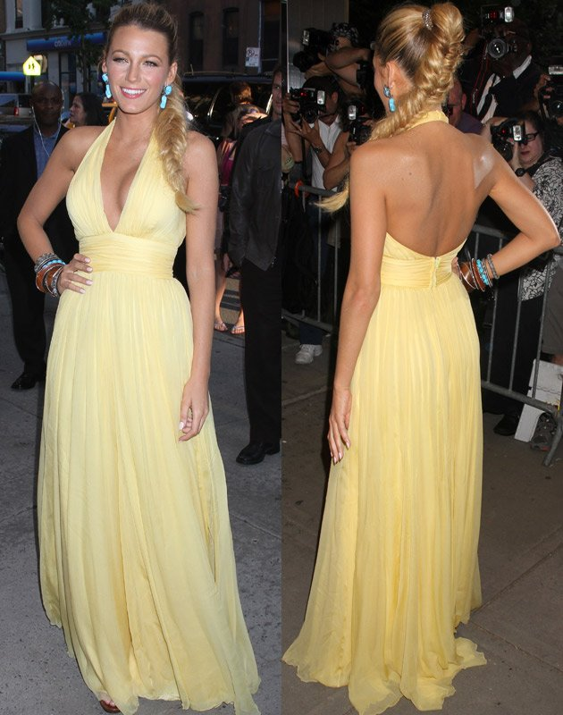Blake Lively, Savages Premiere