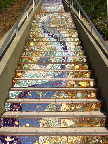 The 16th Avenue Tiled Steps, San Francisco