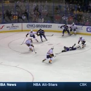 Carter Hutton Save on Paul Stastny (08:58/2nd)