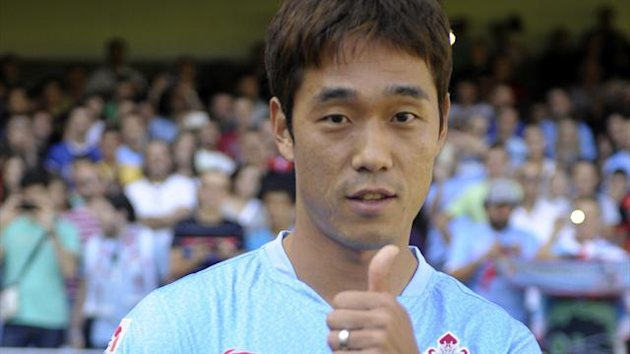 Celta Vigo's South Korean striker Park Chu-Young