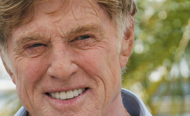 "Actor Robert Redford poses during a photocall for the film ""All is Lost"" at the 66th Cannes Film Festival"