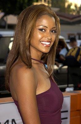 Claudia Jordan at the LA premiere of New Line's Simone
