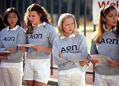 Michelle Krusiec , Dominique Swain , Christina Ricci and Marisa Parker in United Artists' Pumpkin