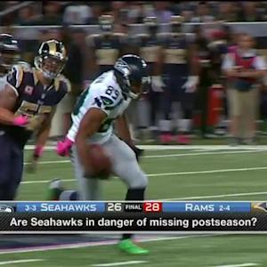 Are the Seattle Seahawks in danger of missing the playoffs?