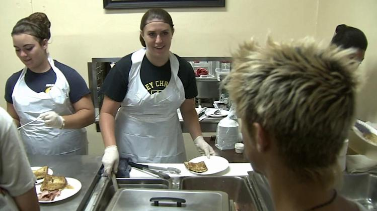 Cool Kid Riley Douthit shows charitable spirit in volunteering