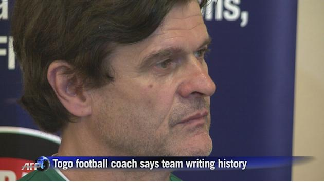 Togo is writing history: coach