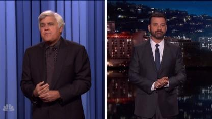 Jay Leno Rips into Jimmy Kimmel: 'He's Got a Mean Streak'