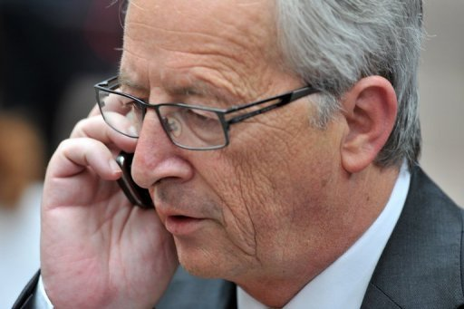 <p>Eurogroup chief Jean-Claude Juncker, seen in Brussels in June, has been quoted as saying that Greece will not leave the eurozone. Juncker's comments were published Saturday ahead of his talks in Athens on the country possibly being given more time to implement austerity cuts.</p>
