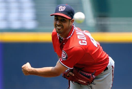 Zimmerman, Nationals top Braves in 105-degree heat
