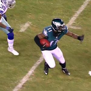 Philadelphia Eagles wide receiver Josh Huff 44-yard reception