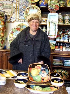 Shopping for Hand-Painted Ceramics in Italy
