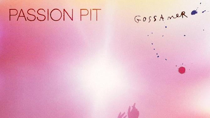 "This CD cover image released by Columbia Records shows the latest release by Passion Pit, ""Gossamer."" (AP Photo/Columbia Records)"