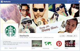 How to Conquer Social Media the Starbucks Way image Starbucks Facebook