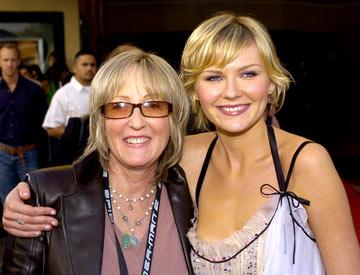 Producer Laura Ziskin and Kirsten Dunst at the Los Angeles premiere of Columbia Pictures' Spider-Man 2