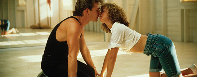 Patrick Swayze y Jennifer Grey (Dirty Dancing)