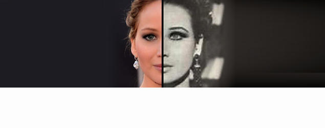 Jennifer Lawrence and more celebs with eerie look-alikes. (BuzzFeed on Yahoo)
