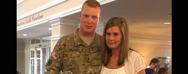Wife&#39;s stunning surprise for soldier husband (Facebook)