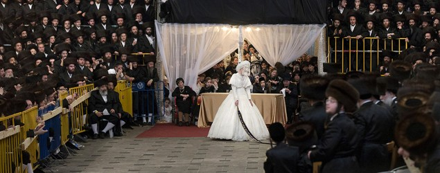 Una boda con 25,000 invitados. (Uriel Sinai/Getty Images)