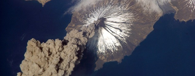Amazing views of volcanoes from space