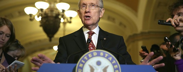 Senate lawmakers approve President Obama's Syria request. Image: U.S. Senate Majority Leader Harry Reid (Getty Images)