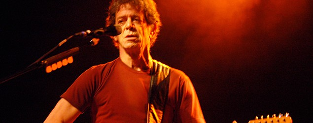 Lou Reed performs at the Lollapalooza music festival, in Chicago, in 2009. (John Smierciak, File/AP Photo)