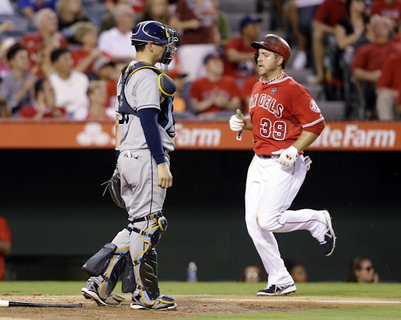 Richards helps Angels pound Rays 11-2