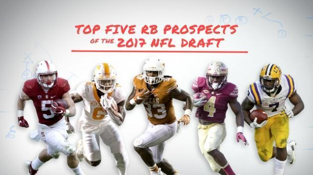 Top 5 RB prospects of the 2017 NFL Draft