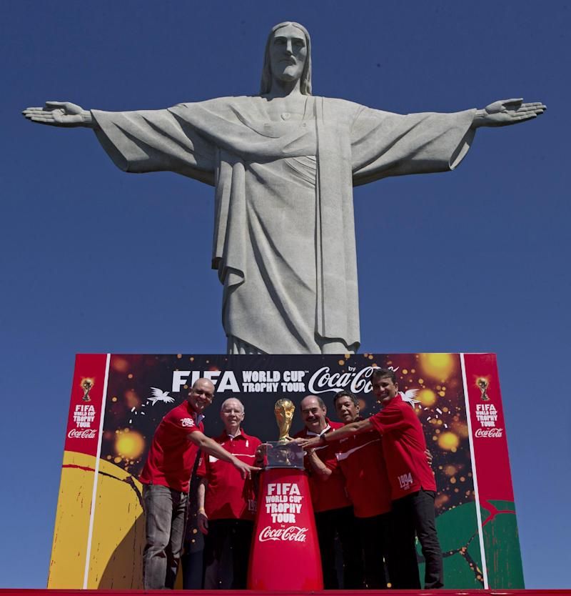 Brazil says it can't handle World Cup drug testing
