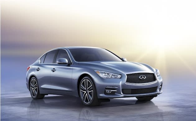 Infiniti's new product offensive begins with the Q50.