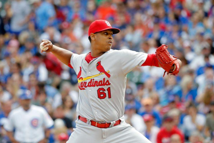 Cardinals rookie Alex Reyes to undergo MRI on pitching arm