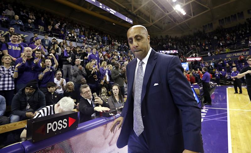 Romar out as Huskies head coach