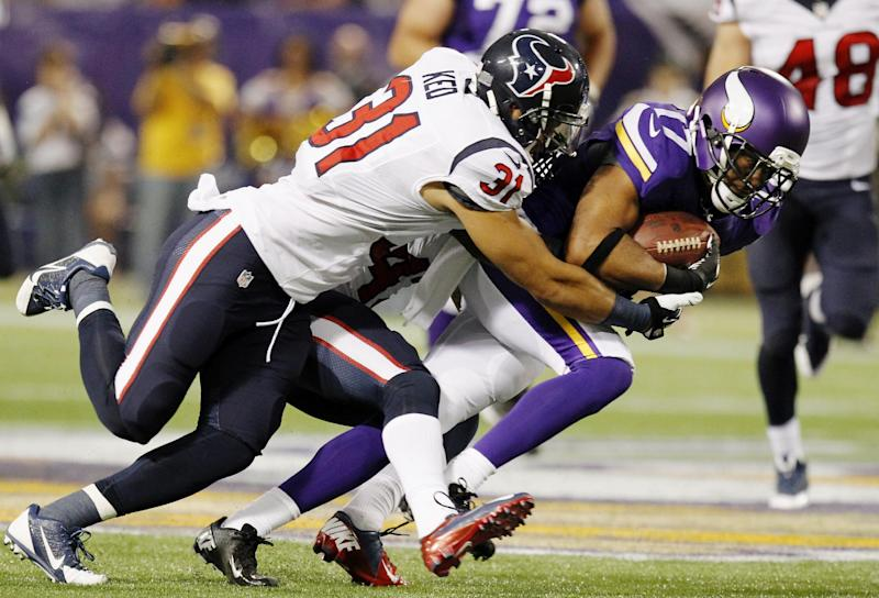 Texans rookie Hopkins stands out against Vikings