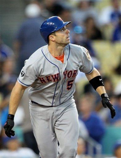 Wright's HR leads Mets over Dodgers 3-2