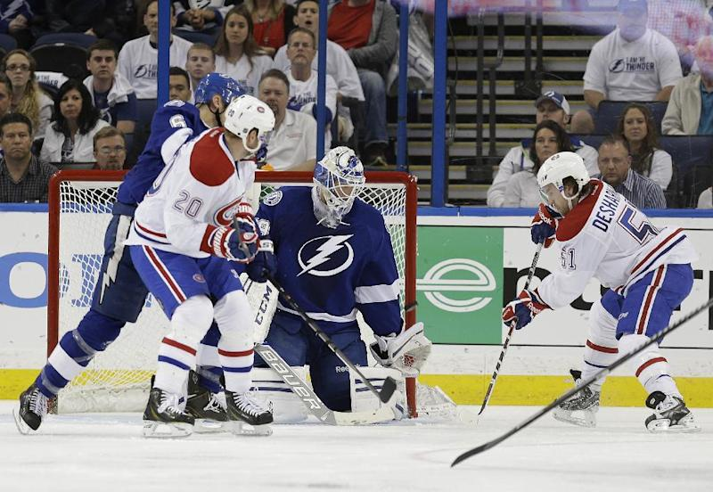 Canadiens top Lightning again for 2-0 series lead