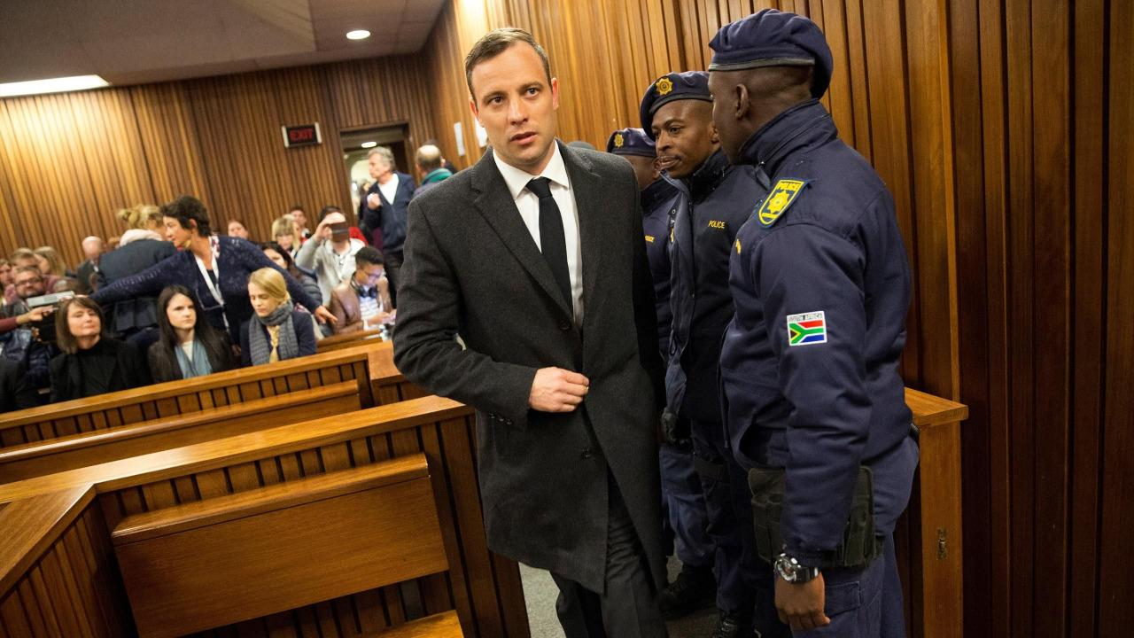 <p><span>On 6 July 2016, Pistorius was sentenced to six years imprisonment for the murder of his partner <span>Reeva Steenkamp</span> by Judge Thokozile Masipa.</span></p>