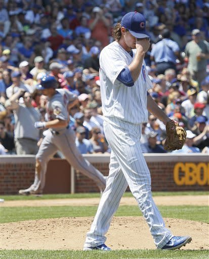 Wright, Murphy, Hairston lead Mets' rout of Cubs