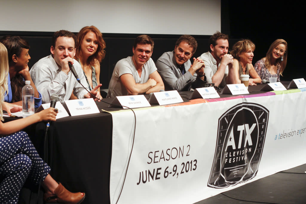 """The """"Boy Meets World"""" reunion panel at the ATX Television Festival on Friday, June 7, 2013 in Austin, Texas."""