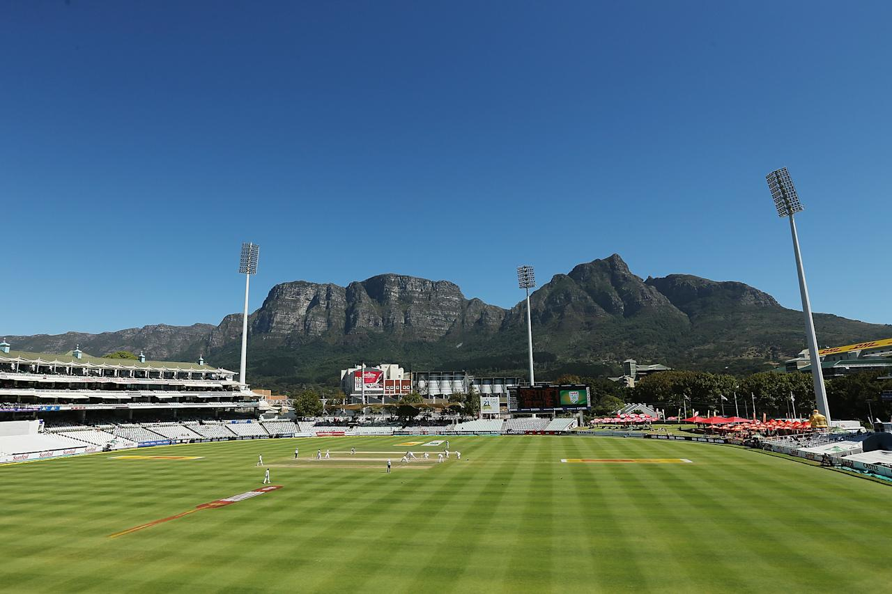 CAPE TOWN, SOUTH AFRICA - MARCH 05:  A general view during day 5 of the third test match between South Africa and Australia at Sahara Park Newlands on March 5, 2014 in Cape Town, South Africa.  (Photo by Morne de Klerk/Getty Images)