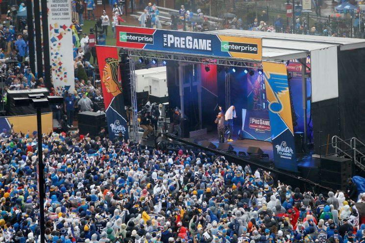 Game on! Winter Classic to start at noon as scheduled