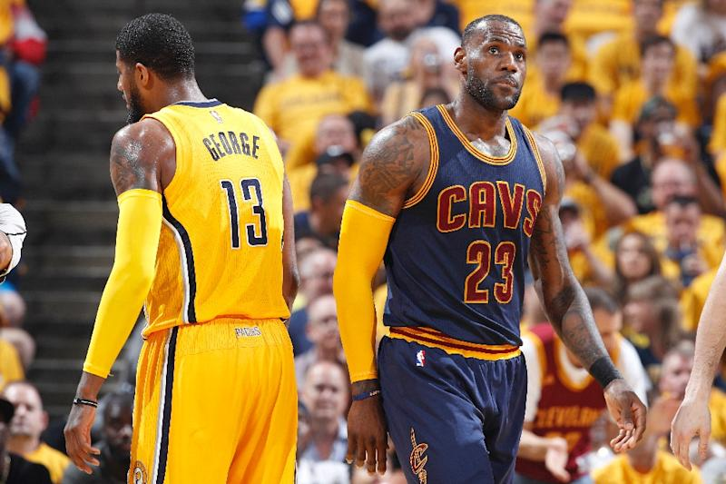 LeBron James led Cavs' historic comeback against Pacers