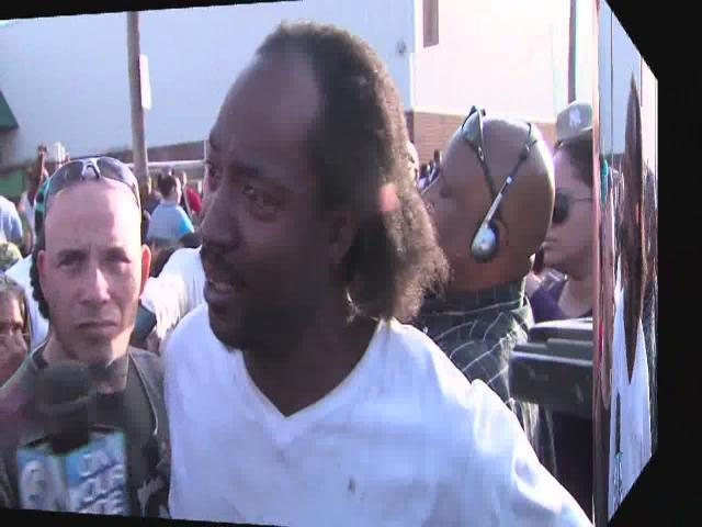 A 911 call from Amanda Berry and part of interview with Charles Ramsey, the man who rescued Berry from the house