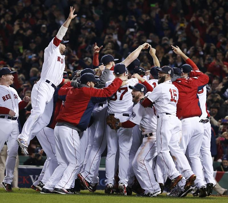 Red Sox aren't favored to repeat in 2014