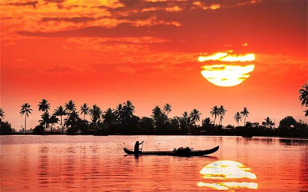 "<div class=""caption-credit""> Photo by: Telegraph</div><div class=""caption-title"">Kerala, India</div>Enjoy the warm sun, even as it sets. <br> <i>Find out more at <a rel=""nofollow"" target=""_blank"" href=""http://www.telegraph.co.uk/sponsored/travel/inspirational-world-holidays/9800152/experience-india.html"">Telegraph</a>. <br></i> <i><b>MORE ON BABBLE</b> <br> <a rel=""nofollow"" target="""" href=""http://www.babble.com/family-style/2012/08/30/10-quirkiest-hotels-in-the-world/?cmp=ELP%7Cbbl%7Clp%7CYahooShine%7CMain%7C%7C041913%7C%7C25PlacestoSeetheMostBeautifulSunset%7CfamE%7C%7C%7C"">The 10 strangest hotels you'll ever stay at</a> <br> <a rel=""nofollow"" target="""" href=""http://www.babble.com/family-style/2012/02/01/25-amazingly-tiny-houses/?cmp=ELP%7Cbbl%7Clp%7CYahooShine%7CMain%7C%7C041913%7C%7C25PlacestoSeetheMostBeautifulSunset%7CfamE%7C%7C%7C"">25 insanely tiny houses</a></i><i><br> <br></i> <br>"