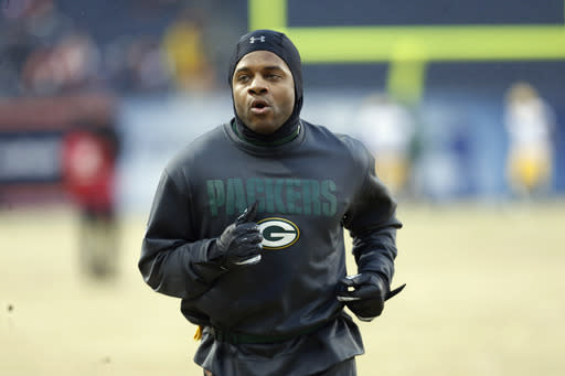 WR Cobb active for Packers against Bears