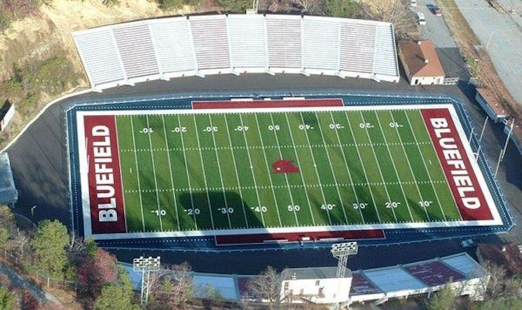 Bluefield is home to Mitchell Stadium, which hosts both Bluefield High and neighboring Graham High — Vasco Sports Projects