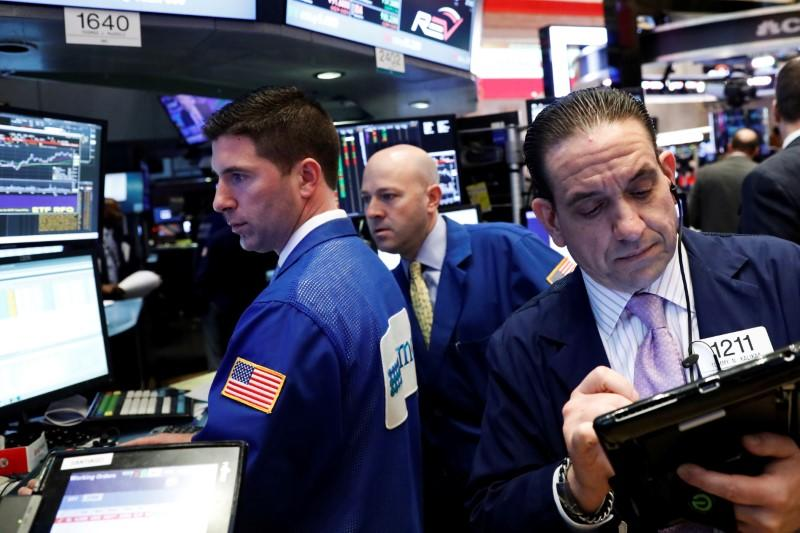 US stock indexes mixed in late-afternoon trading