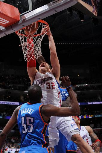 Playoff-bound Clippers beat Thunder 92-77