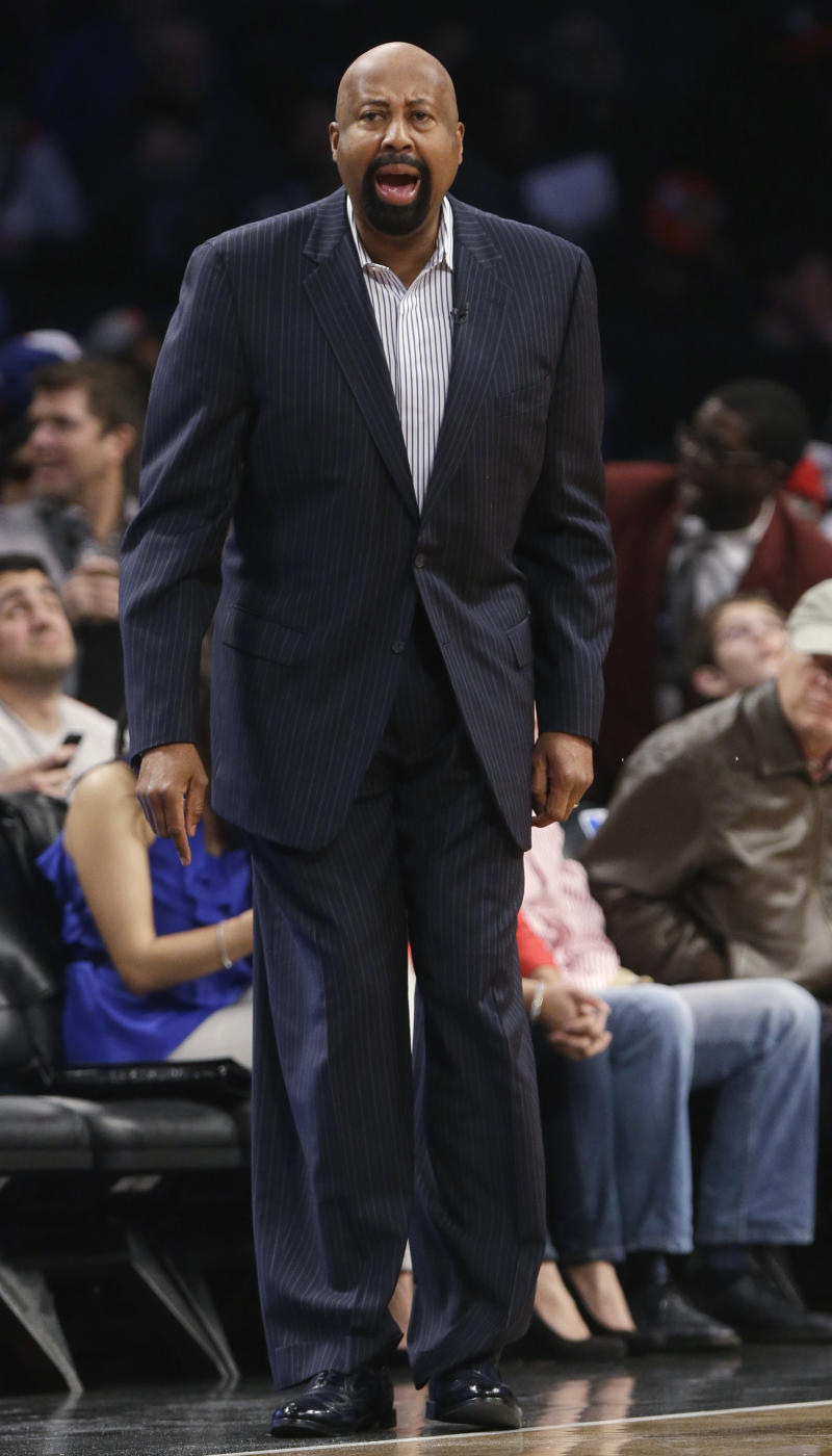 Woodson still believes he's right coach for Knicks