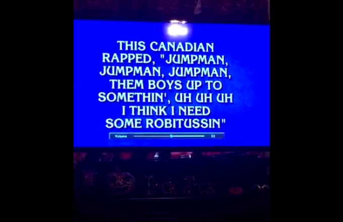 Alex Trebek Raps Drake's 'Jumpman' on 'Jeopardy' -- and It's Everything