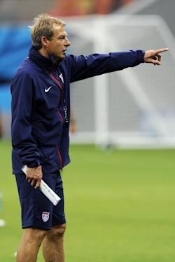 Jurgen Klinsmann is excited about his team's opportunity in Manaus. (AP)